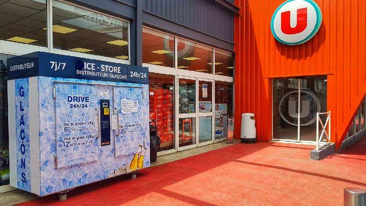 ice store distributeur gla ons en sachets automatique. Black Bedroom Furniture Sets. Home Design Ideas